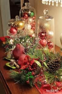 Christmas Centerpiece Ideas Pinterest - table decoration ideas for christmas artofdomaining com