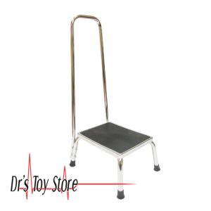equipment step stool handrail dts steel step stool with handrail new and used