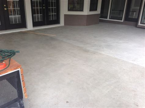 How To Refinish A Concrete Patio by Concrete Designs Florida Patio Refinishing