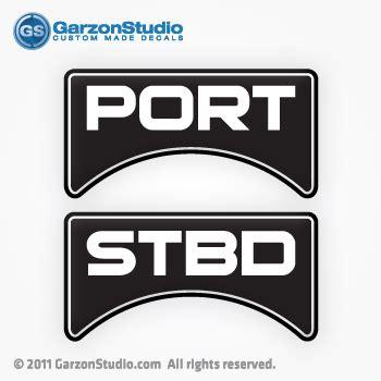 stratos boat wax stratos boats fuel tank decals port stbd garzonstudio