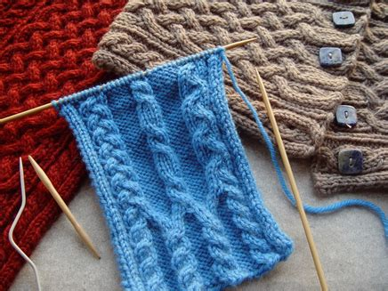 knitting universe criss cross cable stitches west registration