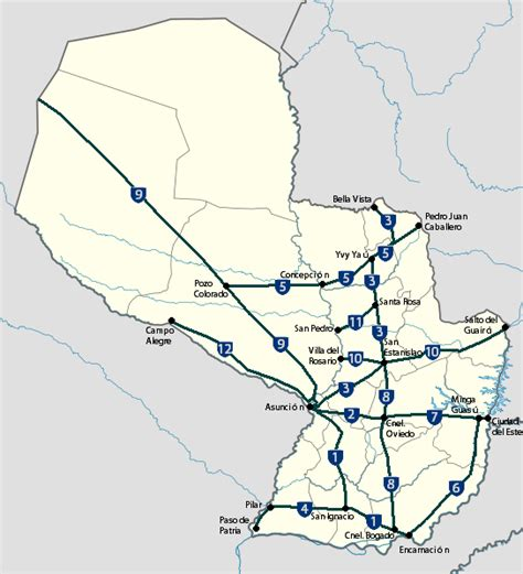 wiki rutas file rutas nacionales del paraguay png wikimedia commons