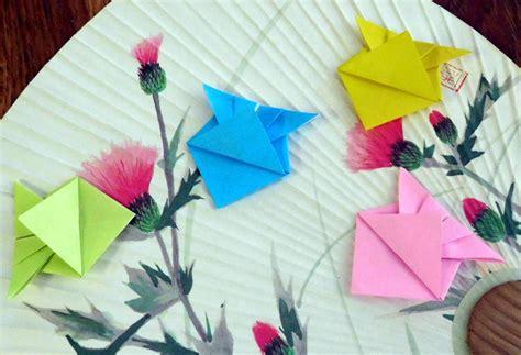 Tropical Fish Origami - origami fish