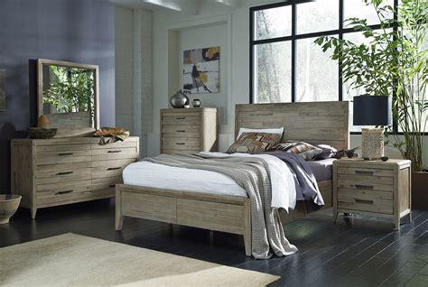 casana furniture harbourside 4 piece panel bedroom set in