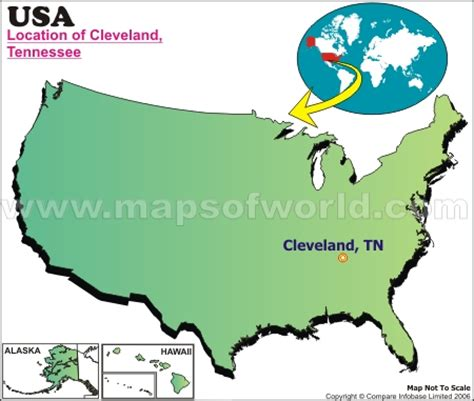 cleveland usa map where is cleveland tennessee