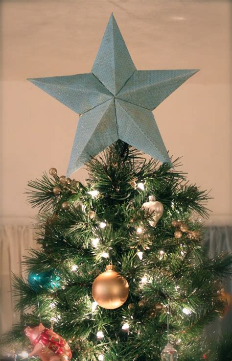 pretty cozy diy star tree topper explained