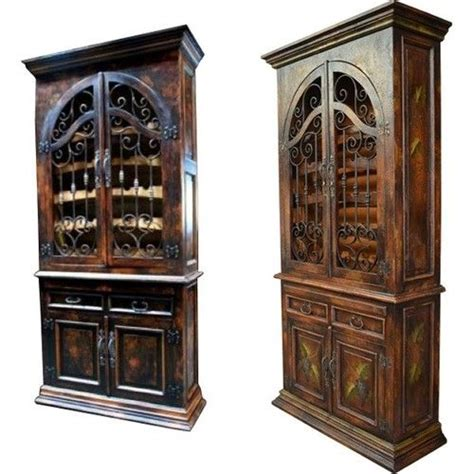 china cabinet in spanish wine cabinet spanish mission style iron hardware solid