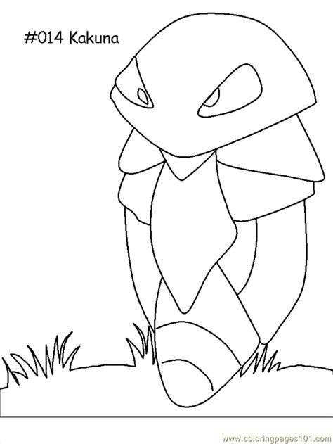 coloring pages of pokemon online kakuna coloring page free pokemon coloring pages