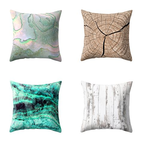 texture throw pillow decorative cushion cover for