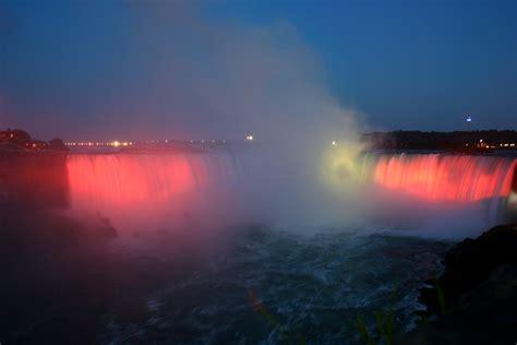 Faucet Night Light Waterfalls 2006 Road Trip Across Usa Canada