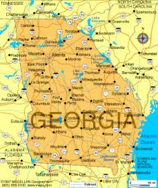 Ga State Map by Atlas Georgia