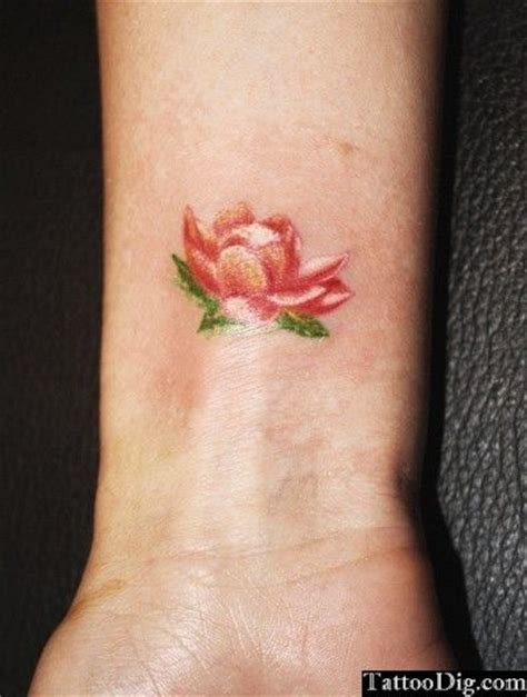 water tattoos small lotus water flower