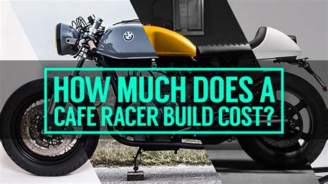 how much does it cost to race motocross how much does it cost to build a cafe racer motorcycle