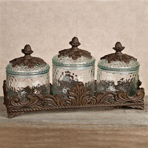 kitchen canister sets fabulous light green metal kitchen