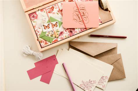 Handmade Stationary - diy tutorial handmade stationery gift box set