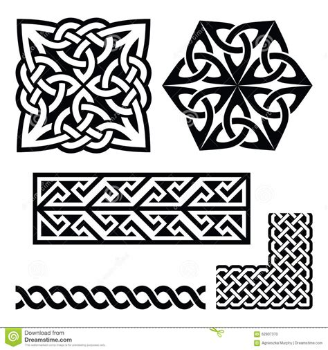 Celtic Irish And Scottish Patterns Knots Braids Key Scottish Designs