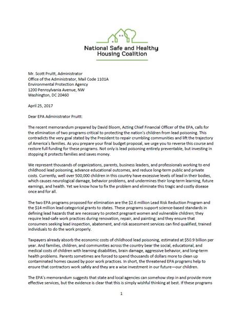 Letter Of Support For Housing Project Search