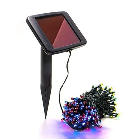 multi color solar christmas light string outdoor solar store