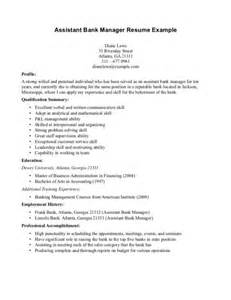 Exle Assistant Resume by Bank Assistant Resume Sales Assistant Lewesmr