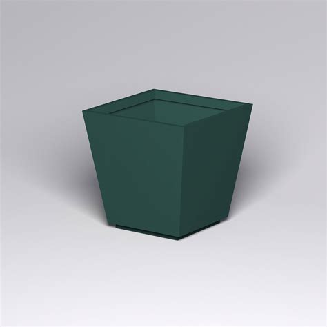 Fiberglass Planters by Marek Fiberglass Tapered Square Planter 42in L X 42in W X