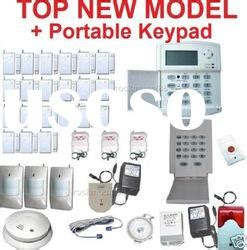 wireless keypad alarm system with auto dialer wireless