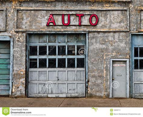 Custom Garage Design abandoned auto shop stock image image 10933711