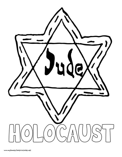 star of david coloring pages hellokids com david star holocaust coloring pages