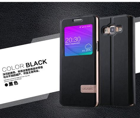 Casing Samsung Grand 3 Usams Muge Series Cuci Gudang usams samsung galaxy galaxy grand3 g7200 cover muge series flip stand high quality leather