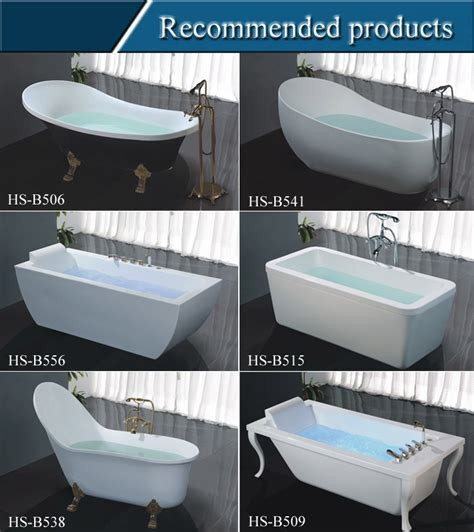 hs b546 clear acrylic bathtub dimensions freestanding tubs