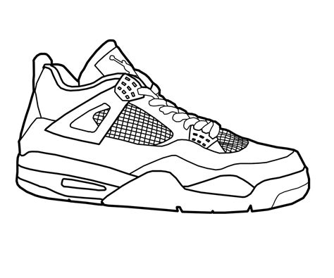 running shoe drawing shoe clipart pencil and in color shoe clipart