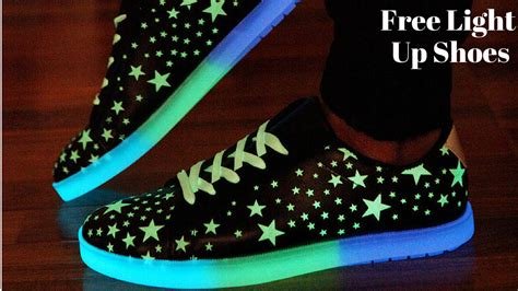 light up shoes at mall youtube
