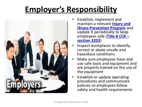 title 8 section 3203 paradigmshift management overview 0527