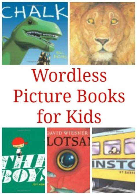 chalk wordless picture book forget the words wordless picture books for children