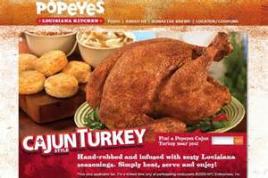 popeyes turkey thanksgiving top 11 thanksgiving restaurant dinner deals