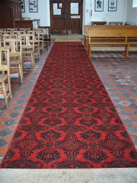 Church Rugs by Oxborough Messenger St Johns Church