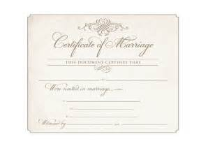 wedding certificate templates best photos of marriage certificate template marriage