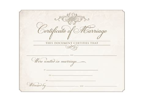 Free Marriage Certificate Template by 10 Best Images Of Religious Marriage Certificate Blank