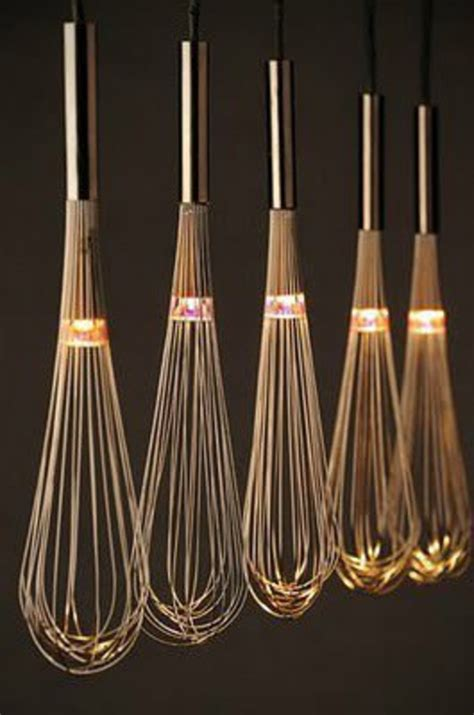 cool lighting fixtures kitchen whisks light fixture turning everyday kitchen