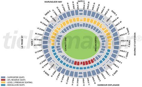 Richmond Floor Plan by Etihad Stadium Seating Map Docklands Stadium Austadiums
