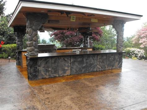 bbq kitchen ideas modern outdoor kitchen ideas 9 interior design mag