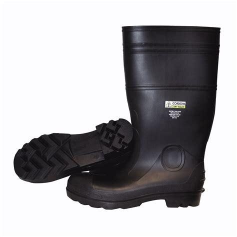 pvc boots pb23 black pvc boots cordova safety products