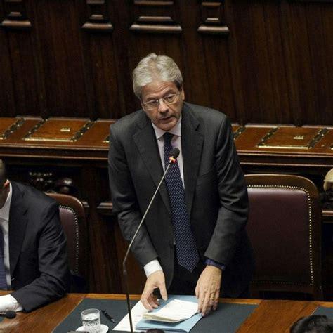 decreto consiglio dei ministri terremoto il consiglio dei ministri approva decreto per