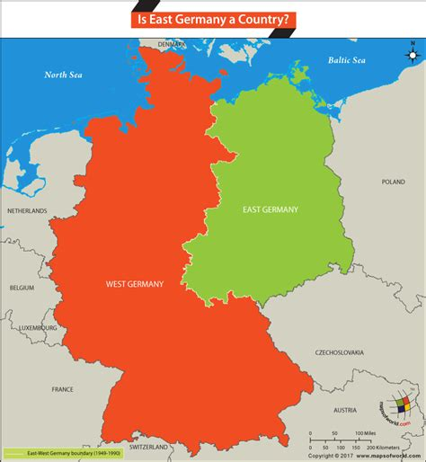map east germany west germany history and geography faqs and answers