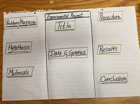 science fair board template science board layout research science fair board nuevo