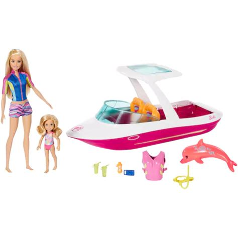 barbie ocean view boat argos 27 99 was 79 99 barbie dolphin magic ocean view boat