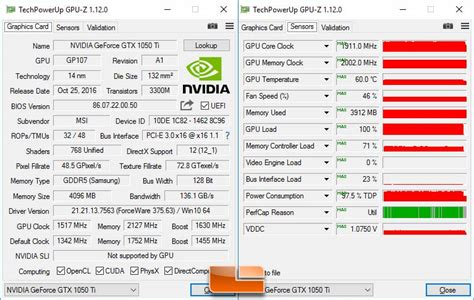 Zotac Gtx1050 Ti 4g D5 Oc Dual Fan overclocking msi geforce gtx 1050 ti 4g oc pushed to the