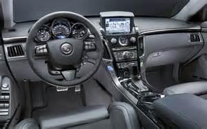 2009 Cadillac Cts Interior 2009 Cadillac Cts V Interior Black Photo 8