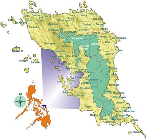 map of san jose northern samar allen samar to liloan leyte