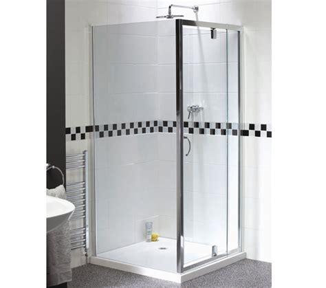 Aqualux Shower Door Aqualux Shine Telescopic Pivot Shower Door 760 900mm Fen0894aqu