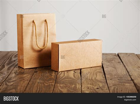Cardboard Paper Craft - craft paper bag cardboard blank box image photo bigstock